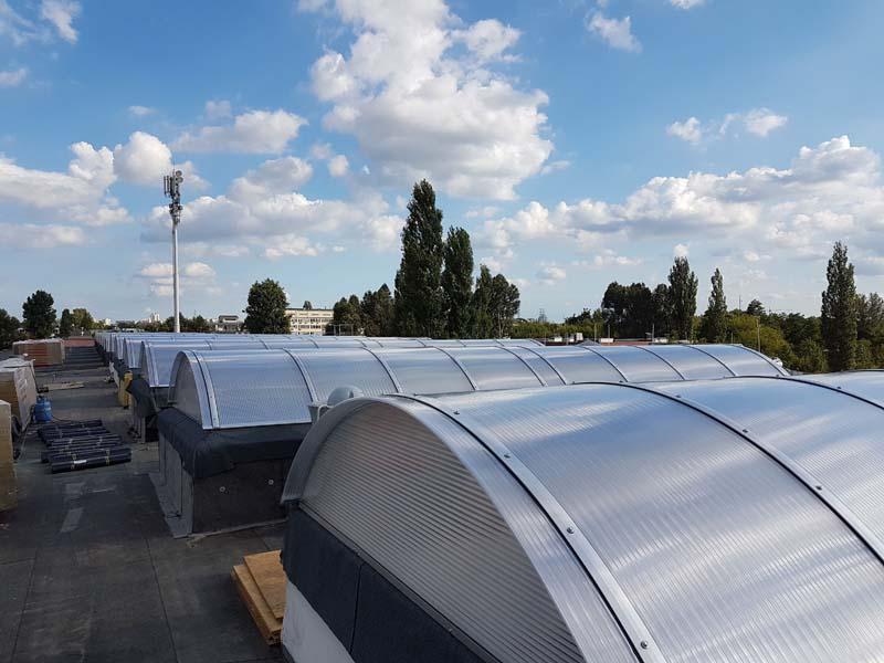 Świetliki dachowe POLIDACH